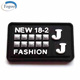 Fashion New Heat Transfer 3D Silicone Rubber Name Labels for Clothing