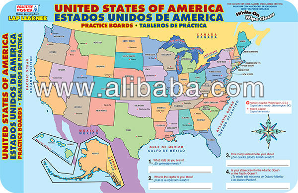 United States Power Board United States Power Board Manufacturers - Us map practice
