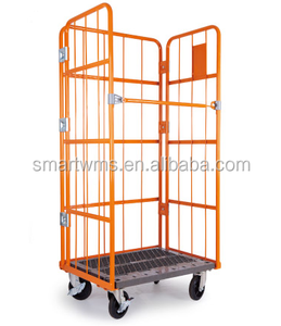 Chinese Supplier DT-RB1001 Roll Box Standard Steel Trolley Cart