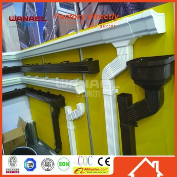 2015 New Rain Gutter And Pvc Downpipe Hot Sale In India