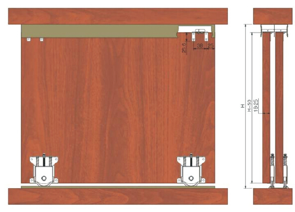 Cabinet Sliding Door Tracks And Rollers Image Collections Doors