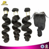 JP Hair Unprocessed Human Hair Wholesale Peruvian 100% Grade 7A Virgin Hair