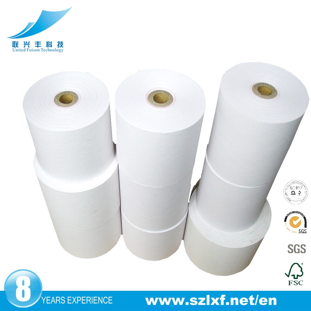 "LXF Thermal Receipt <strong>Paper</strong>, 3-1/8"" x 230', White, 50 Rolls/Pk"