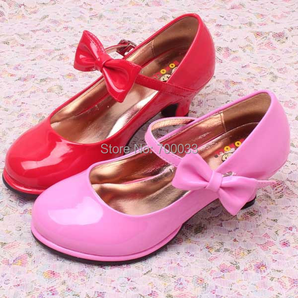 Hot Pink Heels For Kids Tsaa Heel