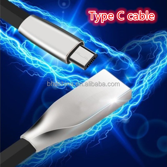 2017 hot sale Data Sync 3.1 type c usb cable for samsung GALAXY S8 S8 plus usb c device