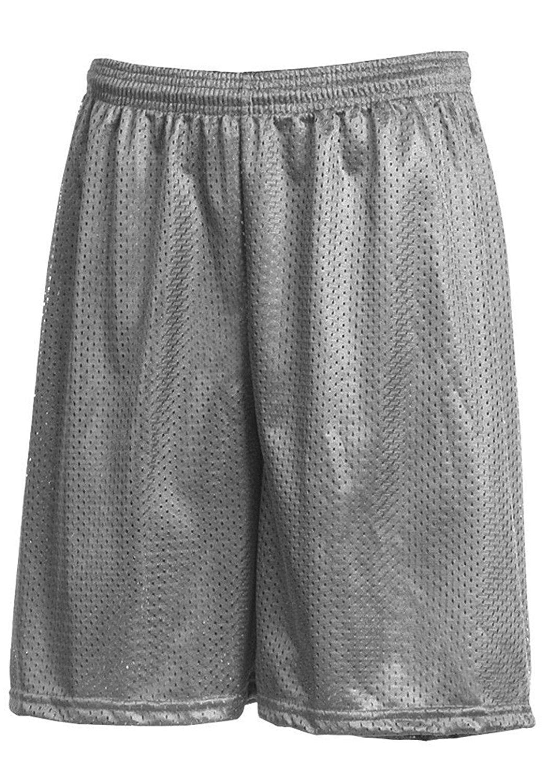 MX Mens Basic Mesh Gym Fitness Shorts With Pockets Plain Workout Jersey Soft Basketball Summer Shorts