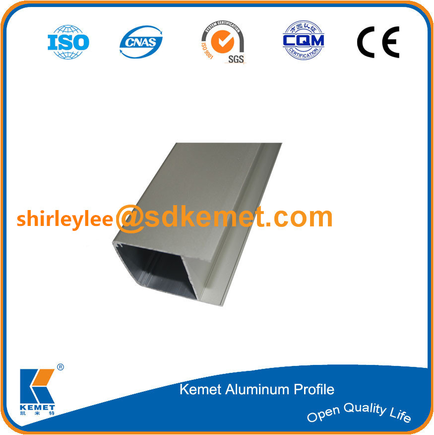 good quality anodizing matt extruding aluminum profile made in China