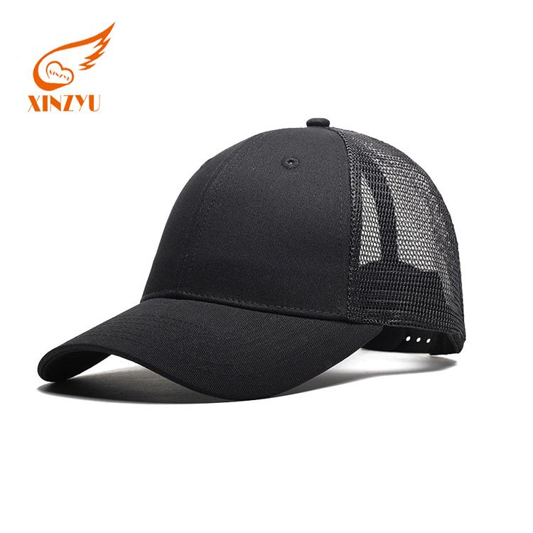 8018b07f0 Popular Polyester Material Mesh Cap Plain Plastic Closure Trucker Hat - Buy  Country Trucker Hats,Plain Black Trucker Hats,Blank Promotional Trucker ...