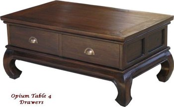Opium Coffee Table 4 Drawer