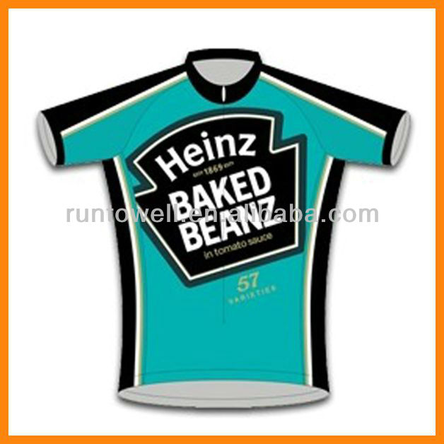 sublimation cycling sportswear with your design / bike jersey and bib short / jersey bike