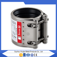 MF-L seamless stainless steel pipe nbrrubber flexible pipe coupling/round Shape and stamping Connection coupling