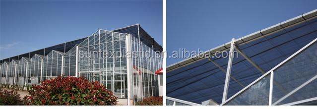 Plastikhaube Gewachshaus Abdeckung Sonnenschutz Netz Hitze