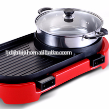 Made in china elektrische <span class=keywords><strong>bbq</strong></span> grill met up grade water lade HJ-BBQ002