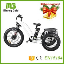 China factory electric fat tricycle three wheel e tricycle for the elderly 48v 500w china e trike