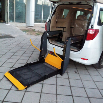 wheelchair lift for car. Delighful Car Wheelchair Lift For Disabled Installed In Van And Minibus CE For Car