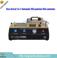 mobile phone repair equipment 3 in 1 vacuum mobile oca laminating machine oca sticker lamination machine for iphone 6s plus
