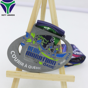 India Souvenir Miniature Running Medal