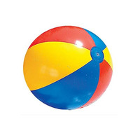 Oempromo cheap color inflatable standard size beach ball