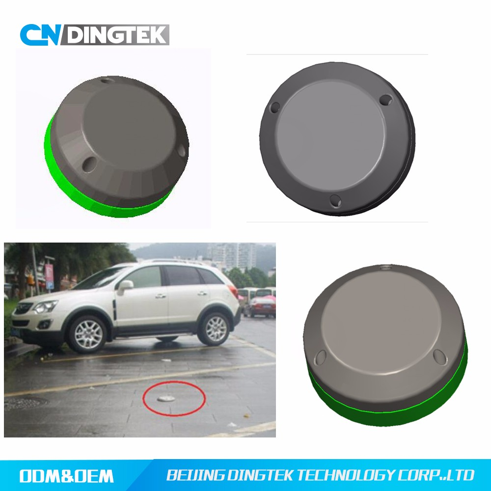 DO100 parking lot occupation detector for saving finding time and reducing emission
