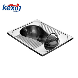 stainless steel public squatting pan outlet 102