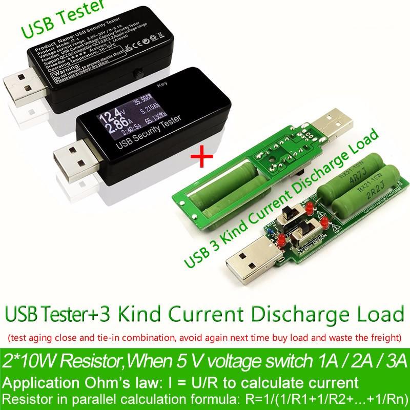 Bank 3 Meter.30v Usb Dc Voltage Current Detector Meter Power Bank Capacity Tester 3 Kind Current Discharge Load Buy Usb Dc Voltage Current Detector 30v Usb Dc