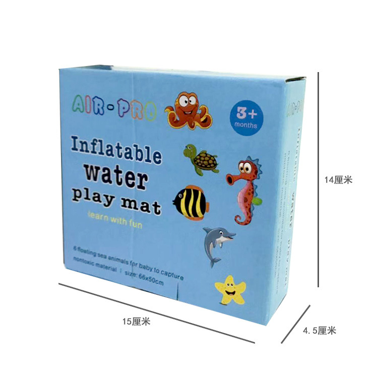 Premium Water PlayMat Inflatable Baby Water Play Mat BPA Free Leak Proof