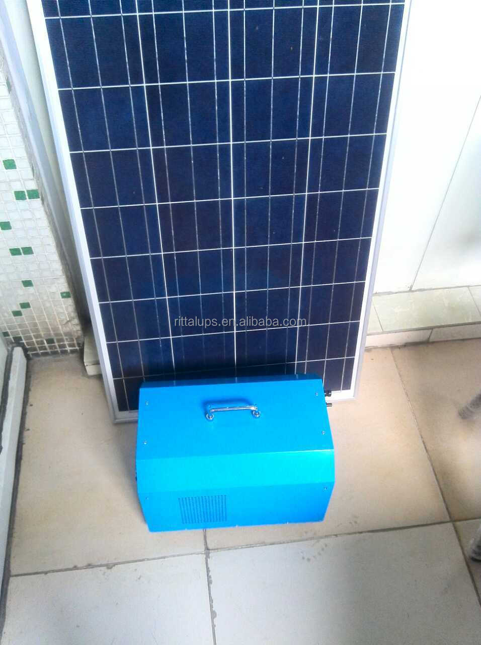 Good quality portable light solar panel system chrarge conventional AC applicances