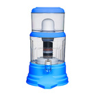 Sky Blue Water Filter Bottle Mineral Water Pot JEK-65