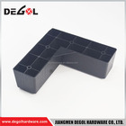 Plastic Sofa Legs Table Legs Cheap Good Quality L Type Black Plastic Sofa Table Furniture Legs