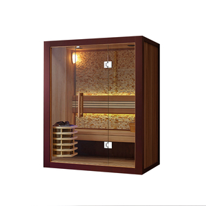 BS-81407 Family massage full body relax sauna dry steam room