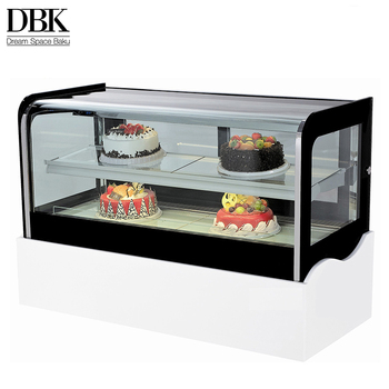 CE approved refrigerated cake showcase / commercial cake refrigerator from china with oem available