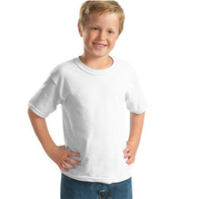Customized new breathable soft bids 100% cotton blank boy T-shirt