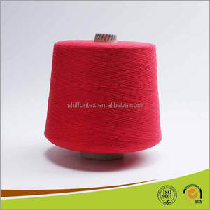 Dyeing Cotton Yarn for Knitting 100% Cotton Slub Yarn