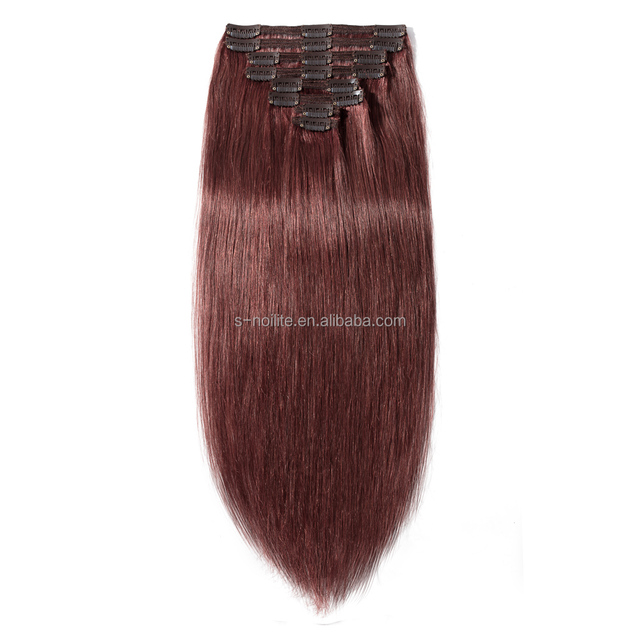 China Clip In Human Hair Extension Weft Wholesale Alibaba