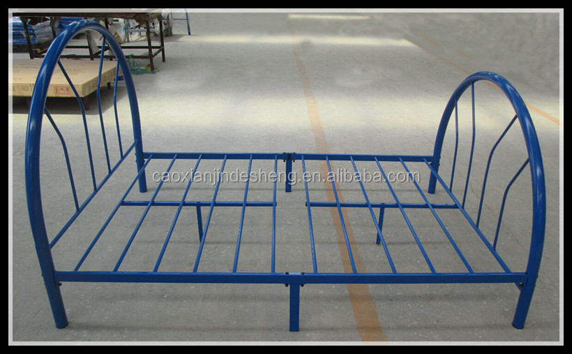 Furniture Manufacturers Wholesale Western Style Metal Bed Frame Single Metal Sofa Bed Frame
