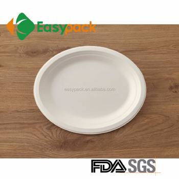 EO-1310 Food Grade Sugarcane Compostable u0026 Biodegradable Disposable Food paper Plate  sc 1 st  Alibaba & Eo-1310 Food Grade Sugarcane Compostable u0026 Biodegradable Disposable ...
