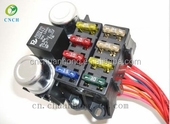 8 circuit Universal wiring harness for Rat Rod or Hot Rod