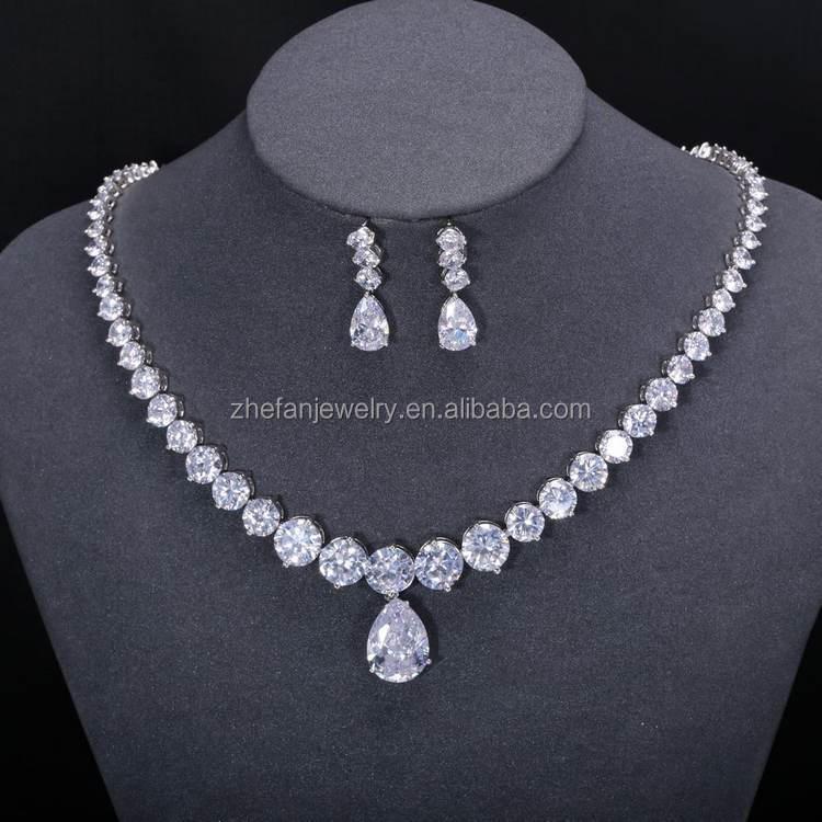 Nigeria Beads Designs Necklace Jewelry Display Set Modern White ...