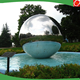 2m stainless steel fountain balls/mirror sphere ,giant stainless steel balls