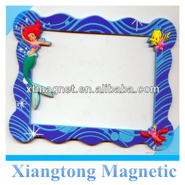 Magnetic Photo Frame with Ivory Board Printed