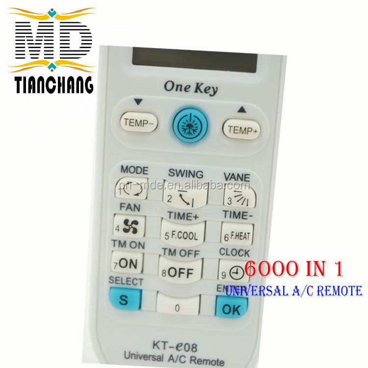 Control Remoto Universal A/c Air Conditioning Remote Control Kt ...