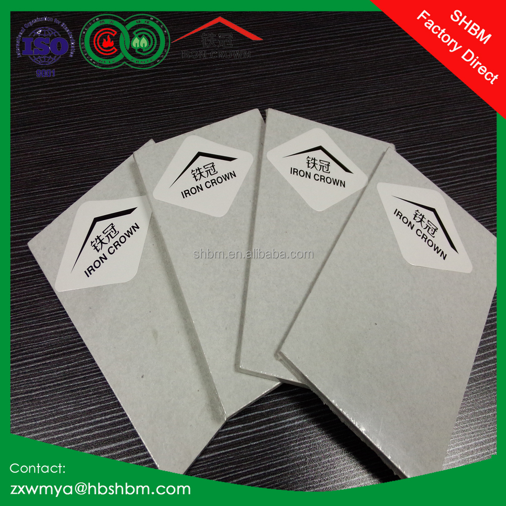 Fire Rated High Density Calcium Silicate Board 12mm Non-Asbestos Calcium Silicate Board