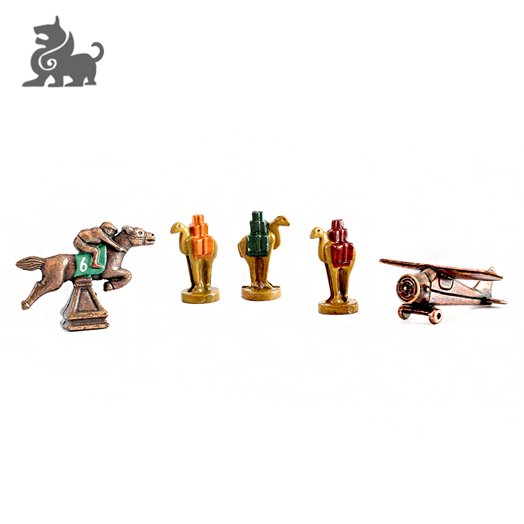 Custom metal action models game miniature figures for board game