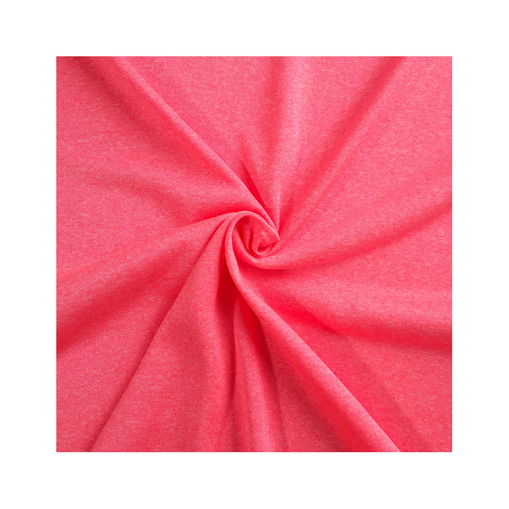 China Textiel 100D Polyester Kationische Lichtgewicht Jersey Stof Voor Logo Sportkleding 2033