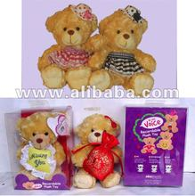 Voice Recordable Greeting bears as educational toys