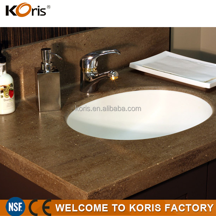China Supplier Bathroom Sanitary Vanity Top Basins Wash