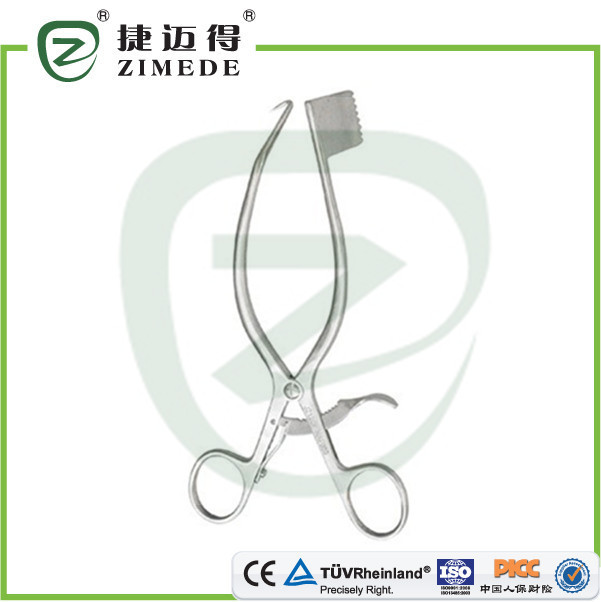 Asymmetric retractors hook and slice general orthopedic instruments