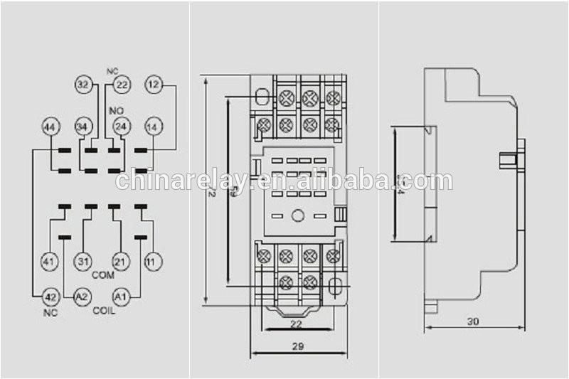 Asiaon pyf14a 14 pinos soquete do rel de 6 volts buy soquete do asiaon pyf14a 14 pinos soquete do rel de 6 volts ccuart Choice Image