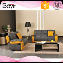 modern fabric color combination sectional sofa living room furniture
