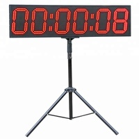 Total Sports America Industrial Timing Outdoor Large LED Clock Digital Sport